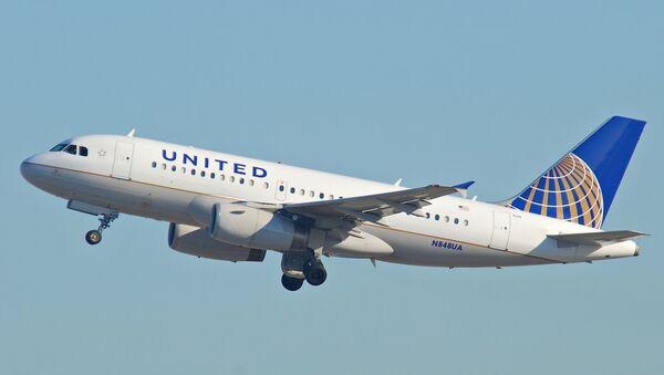 Avión de United - Sputnik Mundo