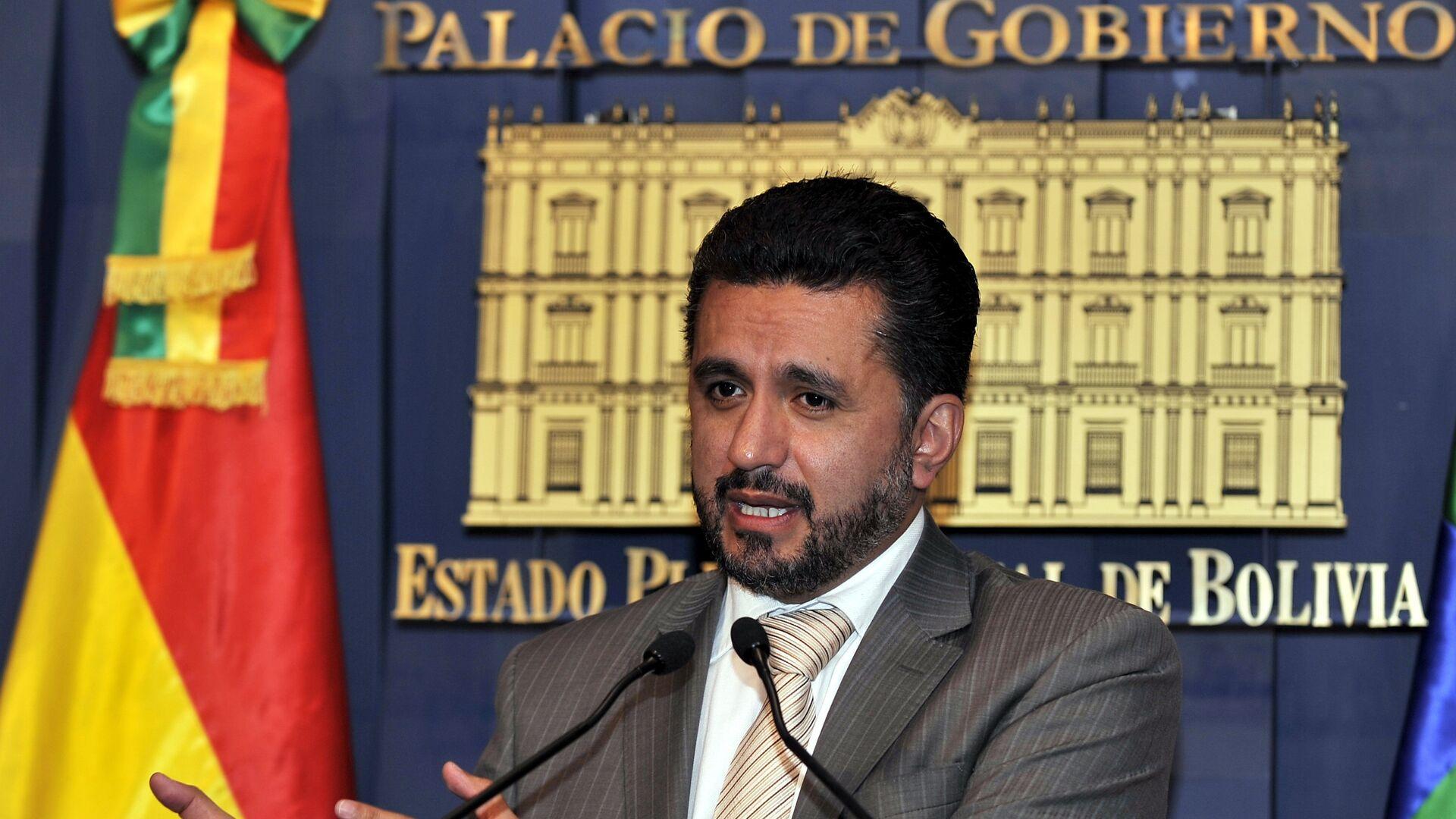Sacha Llorenti, secretario de la Alianza Bolivariana para los Pueblos de Nuestra América - Sputnik Mundo, 1920, 13.05.2021