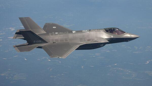 El caza estadounidense F-35 - Sputnik Mundo