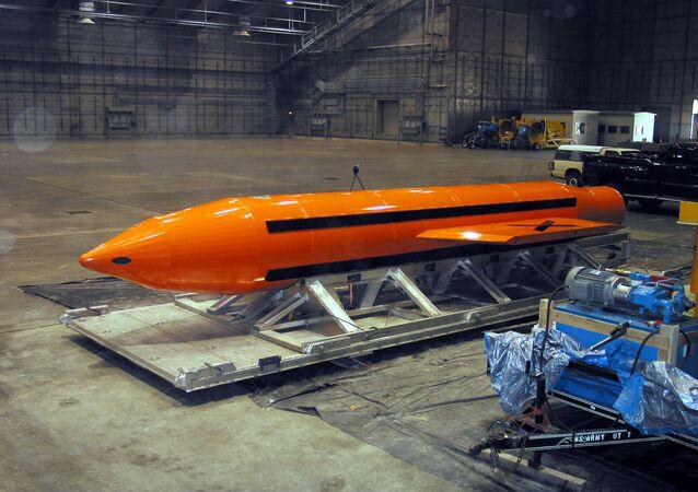 Bomba GBU-43/B (Archivo)