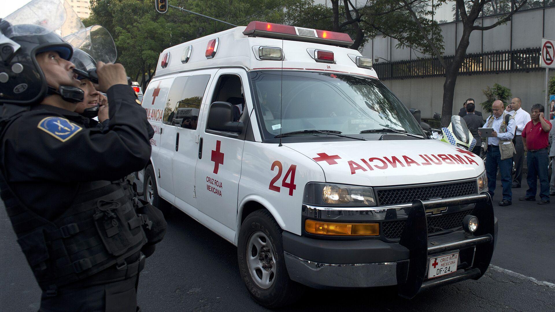 Una ambulancia mexicana (archivo) - Sputnik Mundo, 1920, 15.06.2021