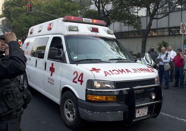 Una ambulancia mexicana (archivo)