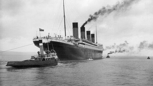 El buque Titanic - Sputnik Mundo