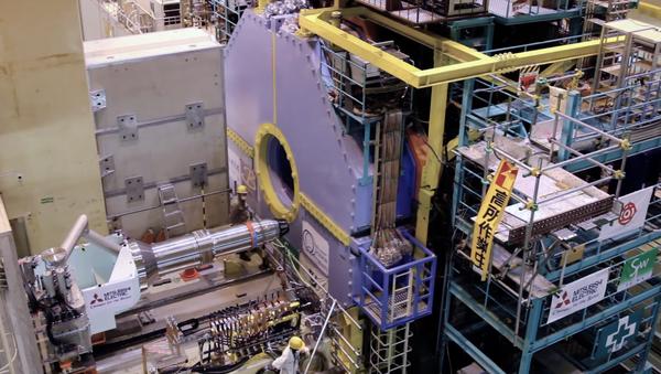 La instalación del detector Belle II en el potente colisionador nipón SuperKEK-B - Sputnik Mundo