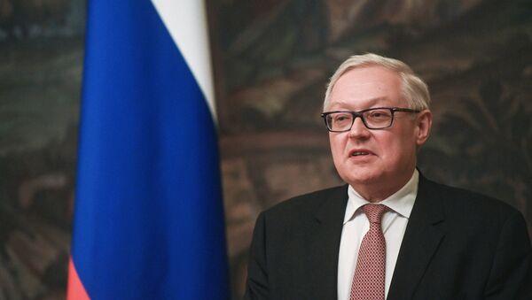 Vicecanciller ruso Serguéi Riabkov - Sputnik Mundo