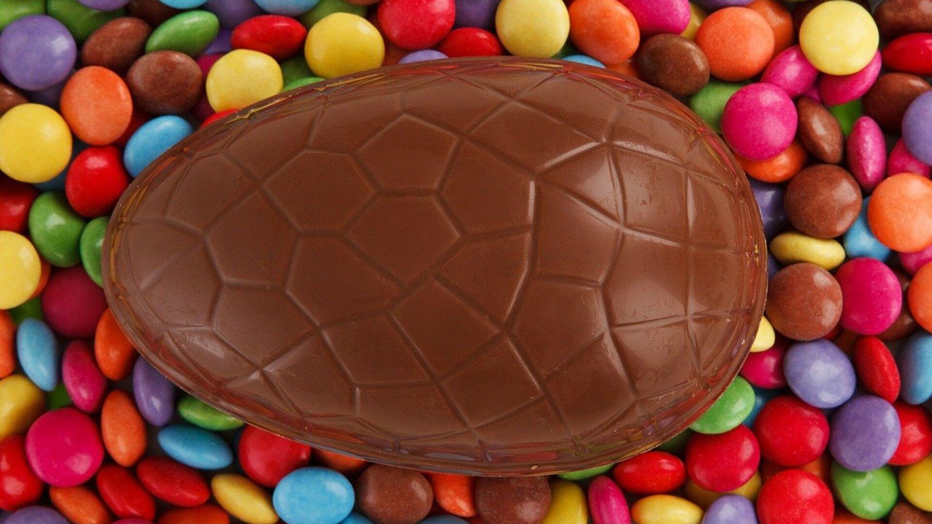Un huevo de Pascua de chocolate - Sputnik Mundo, 1920, 02.04.2021
