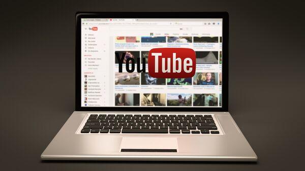 El logo de YouTube - Sputnik Mundo