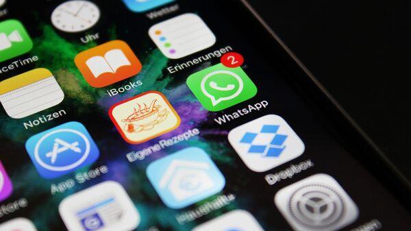 Aplicaciones en un smartphone - Sputnik Mundo