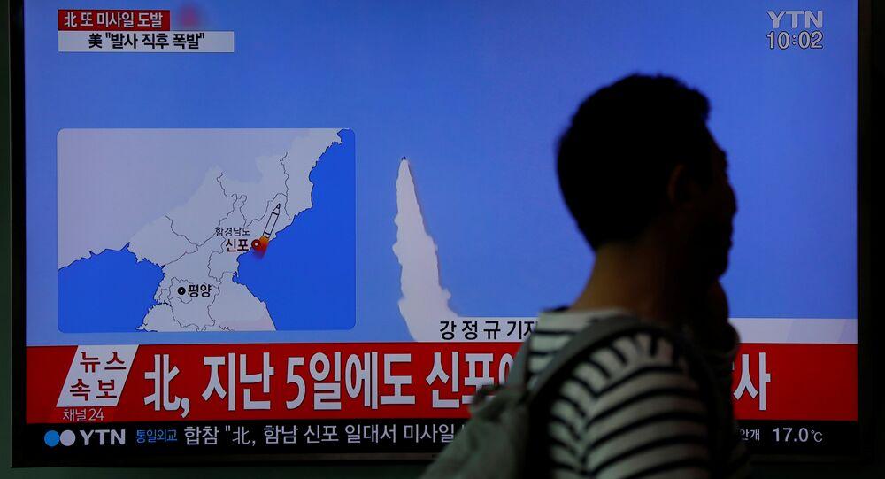Corea del Norte falla en su intento de lanzar un misil