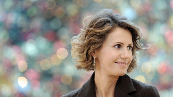 Asma Asad, primera dama de Siria - Sputnik Mundo