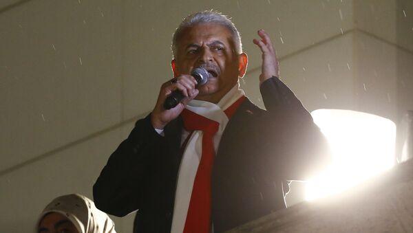 Binali Yildirim, primer ministro turco - Sputnik Mundo