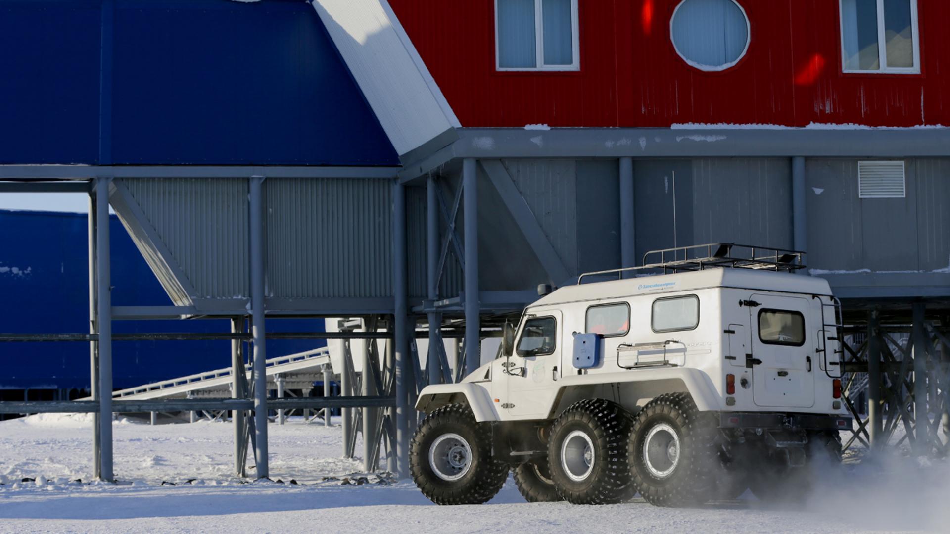 La base rusa Trébol Ártico - Sputnik Mundo, 1920, 09.04.2021
