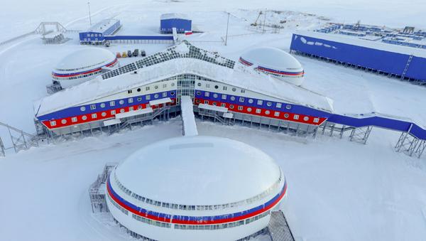 La base rusa Trébol Ártico - Sputnik Mundo