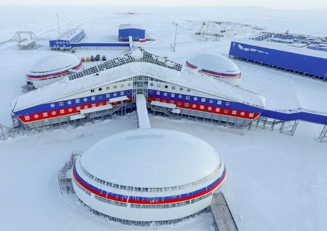 Una base rusa en el Ártico (imagen referencial)