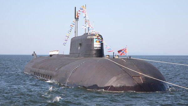 Un submarino del proyecto 949A Antey - Sputnik Mundo