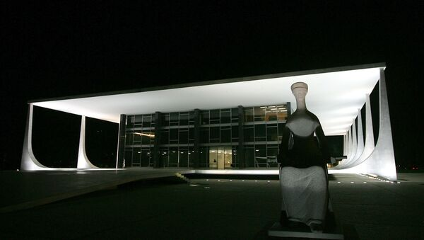 Tribunal Supremo Federal de Brasil - Sputnik Mundo