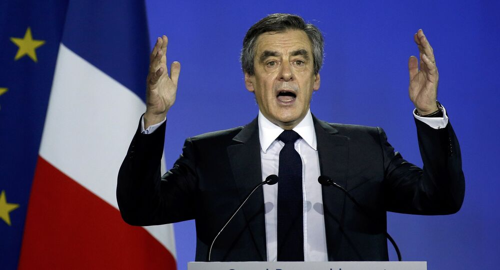 El ex primer ministro de Francia y candidato al Elíseo, François Fillon
