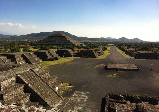 Teotihuacán, la ciudad prehispánica