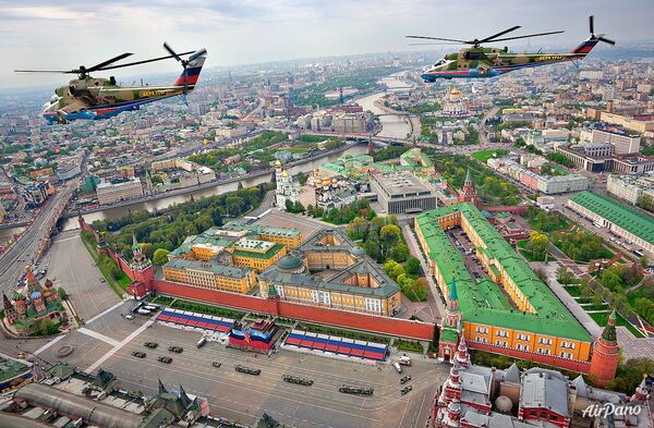 Moscú, el Taj Mahal y las pirámides de Guiza, a vuelo de pájaro - Sputnik Mundo