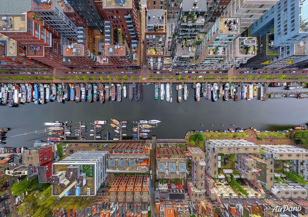 El barrio de Westerdok en Ámsterdam