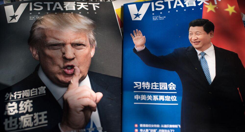 Los presidentes de China y EEUU, Donald Trump y Xi Jinping (archivo)