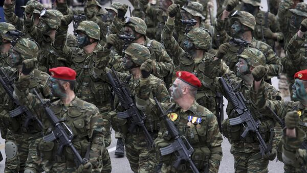 Soldados griegos - Sputnik Mundo