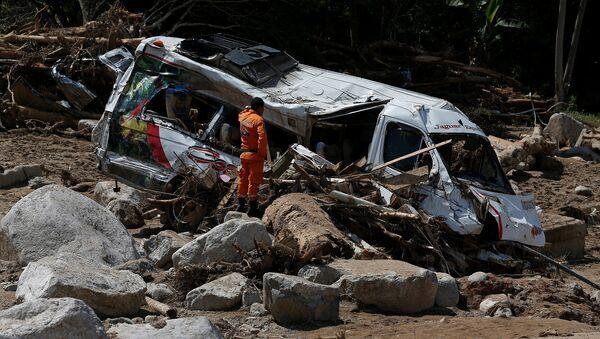 Después del alud en Mocoa, Colombia - Sputnik Mundo