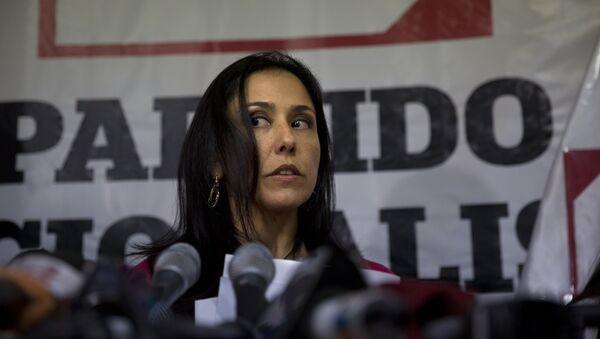 Nadine Heredia, mujer del expresidente de Perú Ollanta Humala (archivo) - Sputnik Mundo