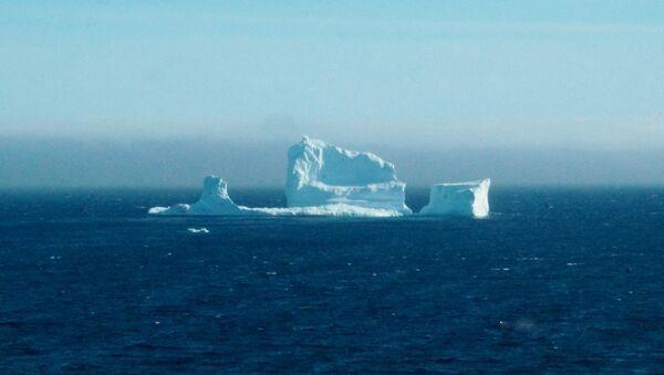 Los residentes ven el primer iceberg de la temporada mientras pasa la Costa Sur de Newfoundland - Sputnik Mundo
