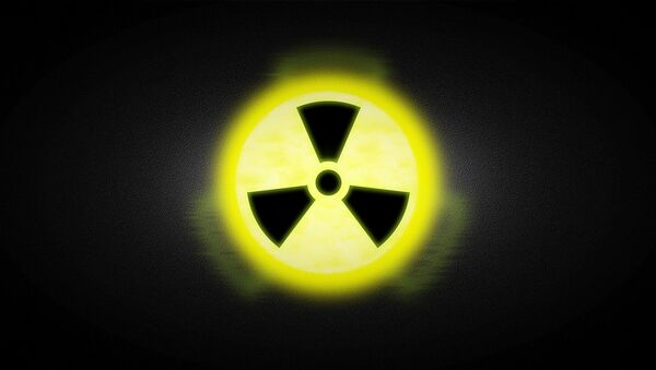 Señal de radiación, foto archivo - Sputnik Mundo