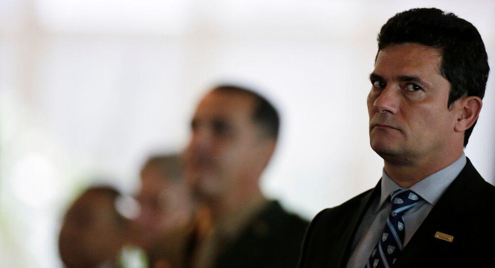 Sérgio Moro, ministro de Justicia de Brasil