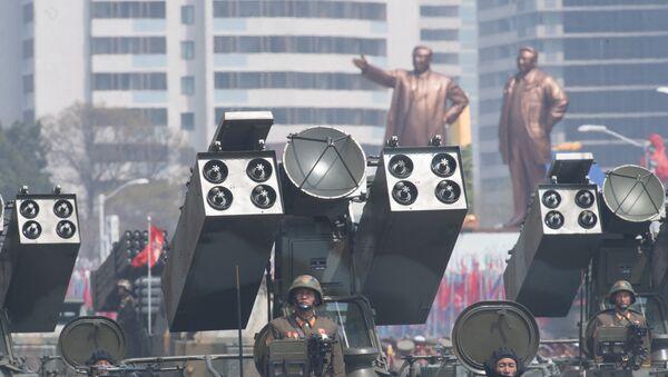 Desfile en Pyongyang, Corea del Sur (archivo) - Sputnik Mundo