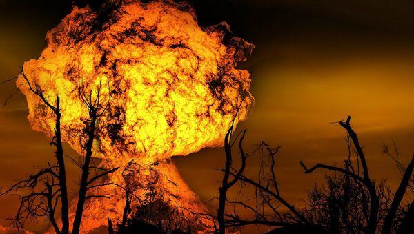 Una explosión (archivo) - Sputnik Mundo