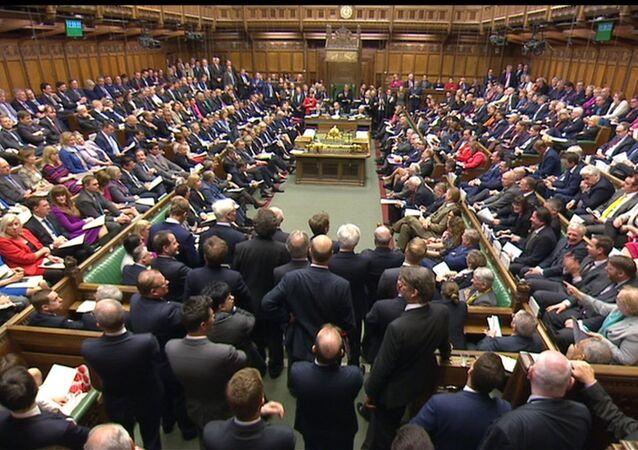 Cámara de los Comunes en Londres