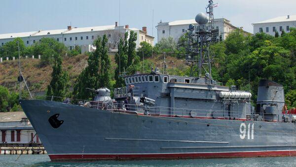 Dragaminas de la Flota del Mar Negro (archivo) - Sputnik Mundo