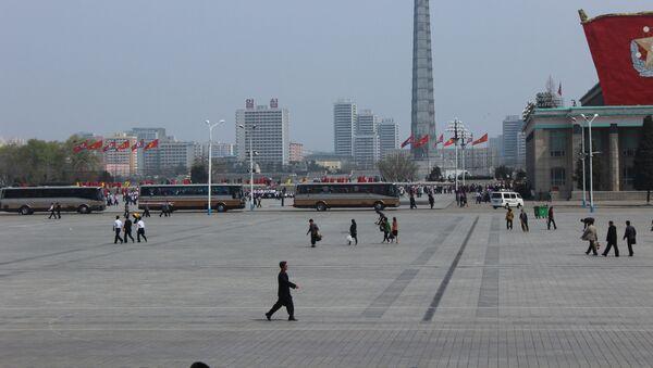 Vida cotidiana en Pyongyang - Sputnik Mundo