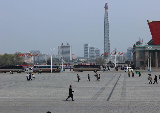 Vida cotidiana en Pyongyang (archivo)