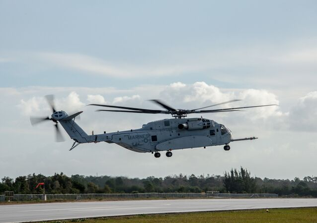Helicóptero estadounidense CH-53K (imagen referencial)