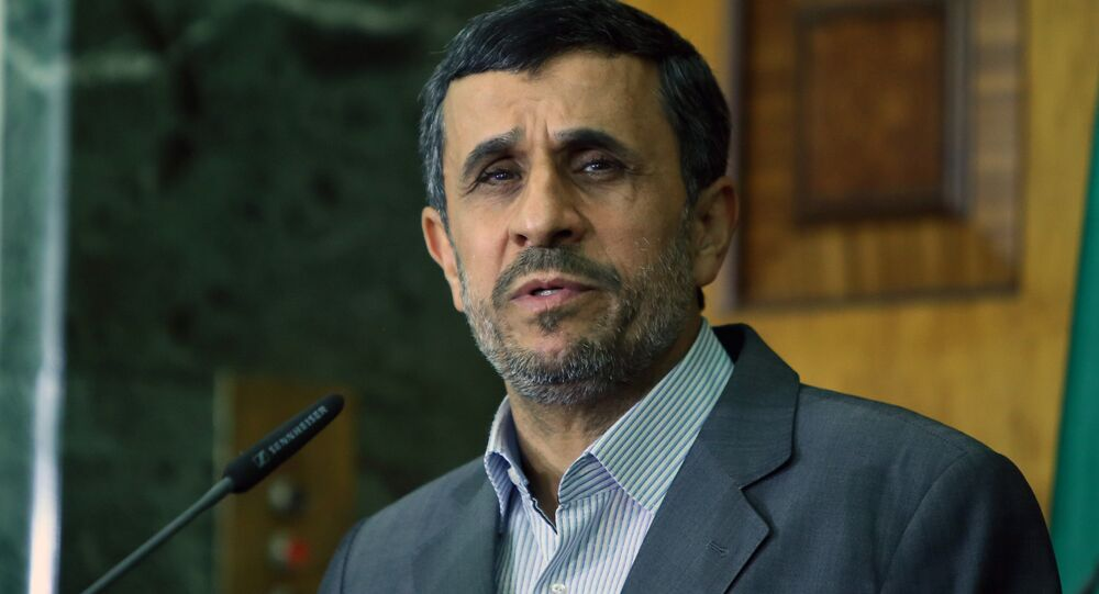 El expresidente iraní Mahmud Ahmadineyad (archivo)