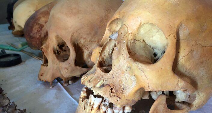 Descubren ocho momias intactas en una tumba faraónica en Egipto