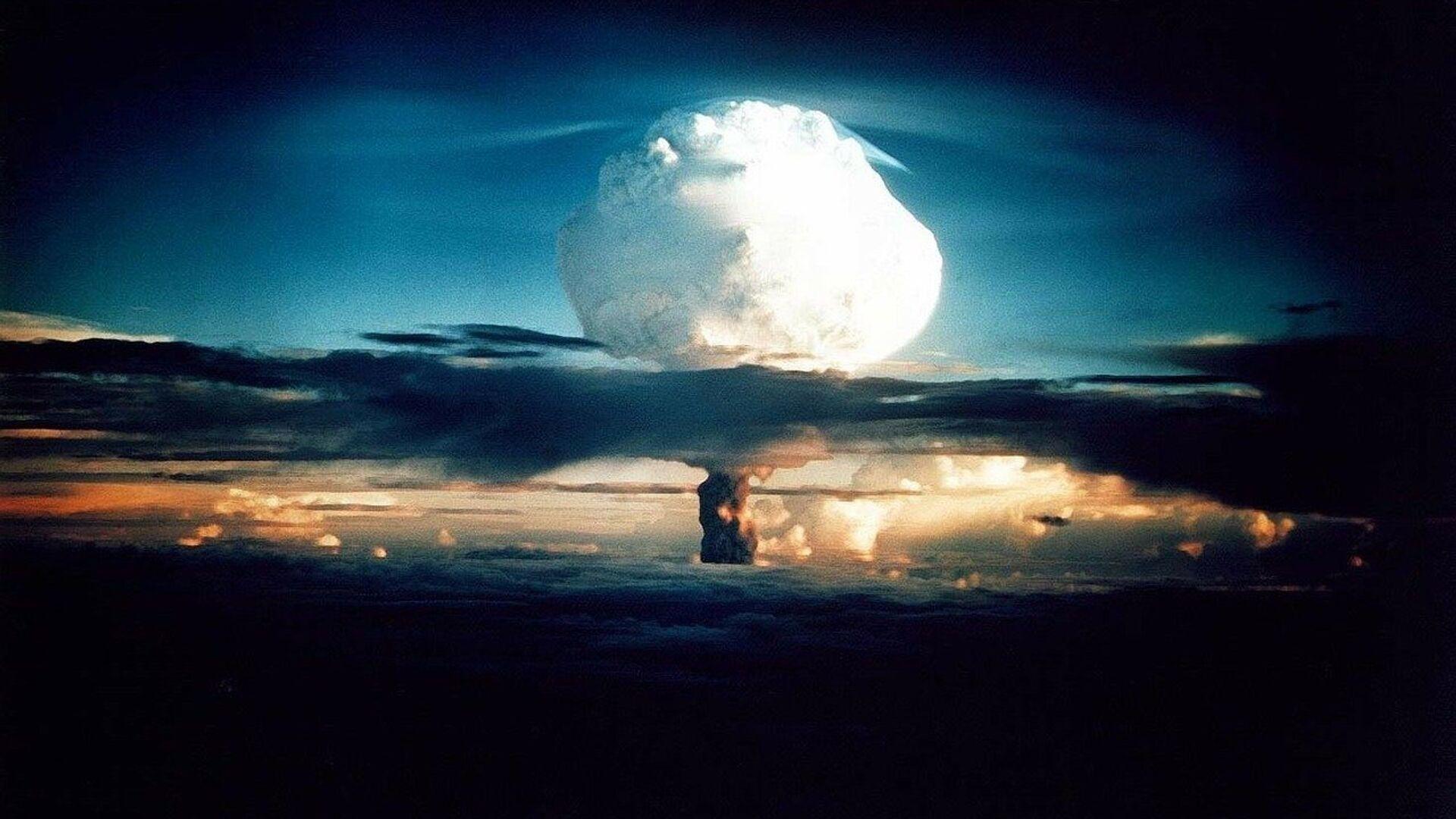 Explosión nuclear (imagen referencial) - Sputnik Mundo, 1920, 23.06.2021