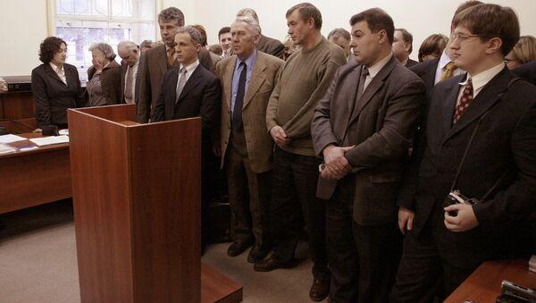 Miembros de los Testigos de Jehová durante el juicio en Moscú (archivo) - Sputnik Mundo