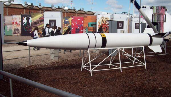 Misil argentino Alacrán, desarrollo parcial del misil Cóndor (Archivo) - Sputnik Mundo
