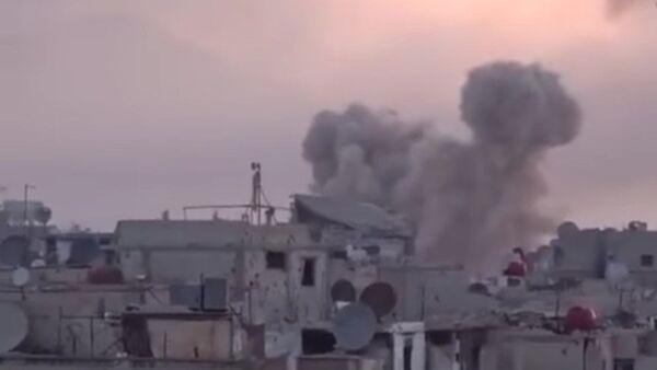 'Elefantes' sirios arrasan con terroristas en Damasco - Sputnik Mundo