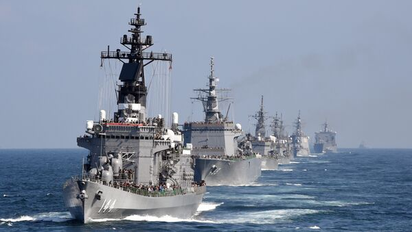 Fuerza Marítima de Autodefensa de Japón - Sputnik Mundo