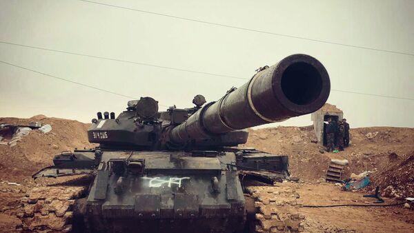 Avance de las tropas gubernamentales sirias en norte de la provincia Hama - Sputnik Mundo