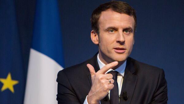 Emmanuel Macron - Sputnik Mundo