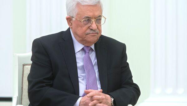 Mahmud Abás, presidente palestino - Sputnik Mundo
