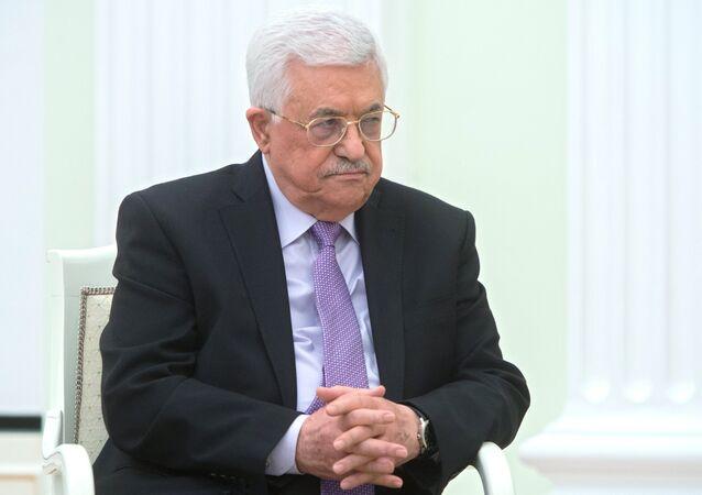 Mahmud Abás, el presidente palestino
