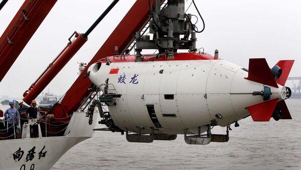El batiscafo Jiaolong - Sputnik Mundo